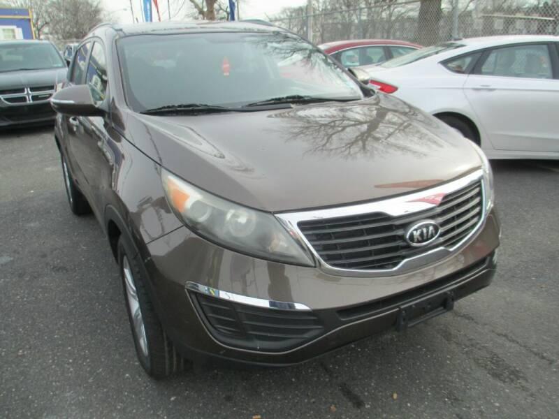 2011 Kia Sportage for sale at LaBate Auto Sales Inc in Philadelphia PA
