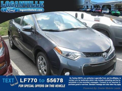 2016 Toyota Corolla for sale at Loganville Quick Lane and Tire Center in Loganville GA
