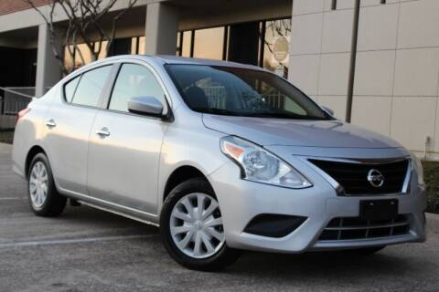 2018 Nissan Versa for sale at DFW Universal Auto in Dallas TX