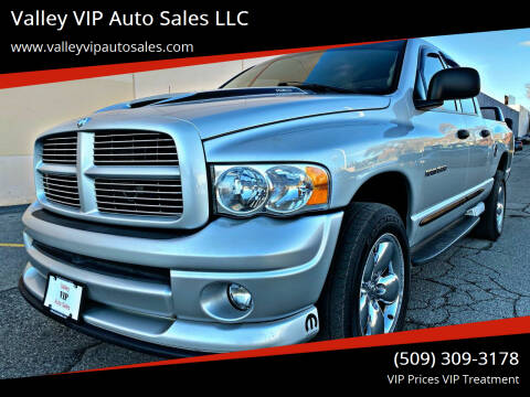 2005 Dodge Ram Pickup 1500 for sale at Valley VIP Auto Sales LLC in Spokane Valley WA
