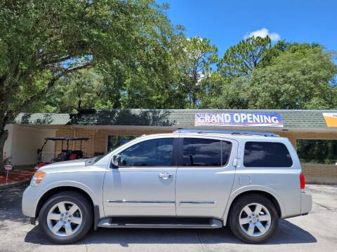 2011 Nissan Armada for sale at Magic Imports in Melrose FL