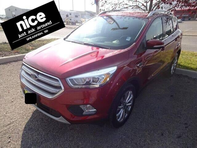 2017 Ford Escape for sale at PRESTIGE AUTO SALES in Spearfish SD