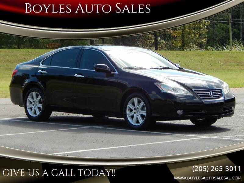 2009 Lexus ES 350 for sale at Boyles Auto Sales in Jasper AL
