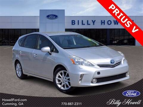 2012 Toyota Prius v for sale at BILLY HOWELL FORD LINCOLN in Cumming GA