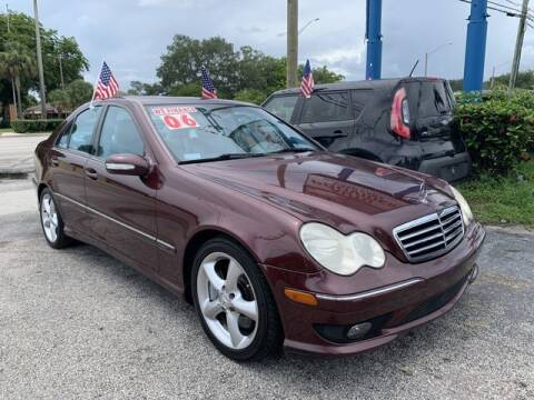 2006 Mercedes-Benz C-Class for sale at AUTO PROVIDER in Fort Lauderdale FL