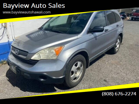 2008 Honda CR-V for sale at Bayview Auto Sales in Waipahu HI