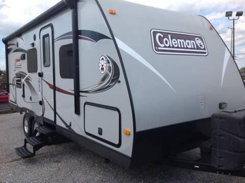 2014 Coleman Explorer 194QB