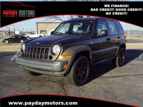 2006 Jeep Liberty for sale at Payday Motors in Wichita And Topeka KS