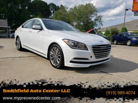 2015 Hyundai Genesis for sale at Smithfield Auto Center LLC in Smithfield NC