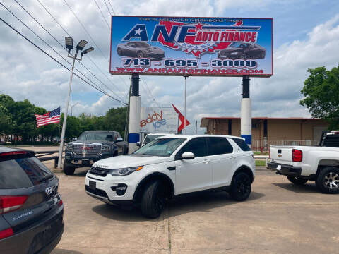 2016 Land Rover Discovery Sport for sale at ANF AUTO FINANCE in Houston TX