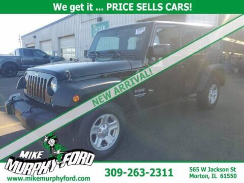 2017 Jeep Wrangler Unlimited for sale at Mike Murphy Ford in Morton IL