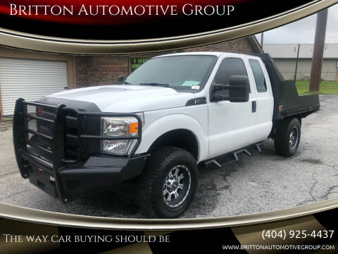2012 Ford F-250 Super Duty for sale at Britton Automotive Group in Loganville GA