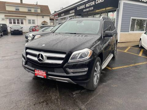 2014 Mercedes-Benz GL-Class for sale at CLASSIC MOTOR CARS in West Allis WI