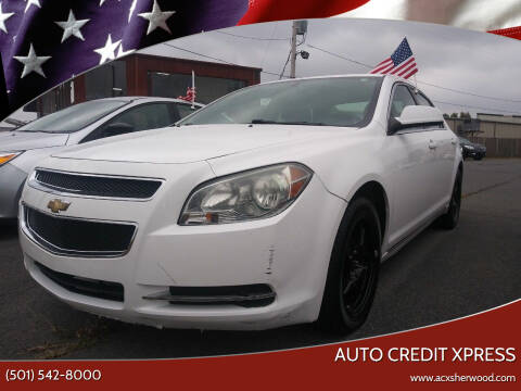 2010 Chevrolet Malibu for sale at Auto Credit Xpress in North Little Rock AR