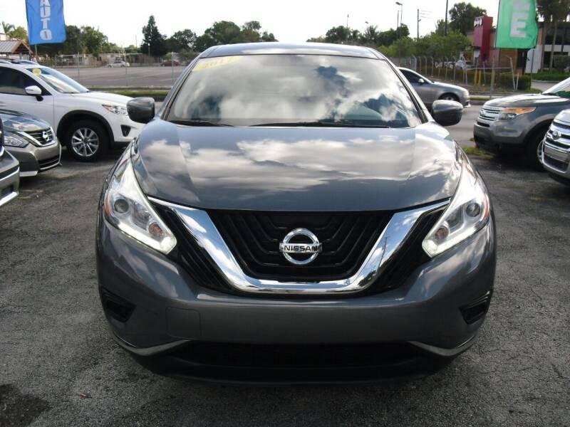 2017 Nissan Murano for sale at SUPERAUTO AUTO SALES INC in Hialeah FL