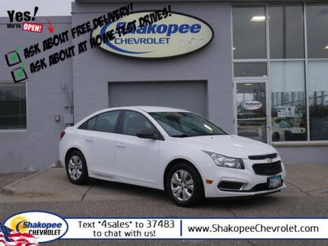 2016 Chevrolet Cruze Limited for sale at SHAKOPEE CHEVROLET in Shakopee MN