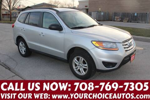2011 Hyundai Santa Fe for sale at Your Choice Autos in Posen IL