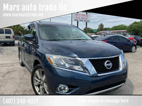 2015 Nissan Pathfinder for sale at Mars auto trade llc in Kissimmee FL