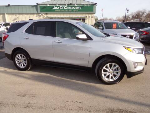2019 Chevrolet Equinox for sale at Jim O'Connor Select Auto in Oconomowoc WI