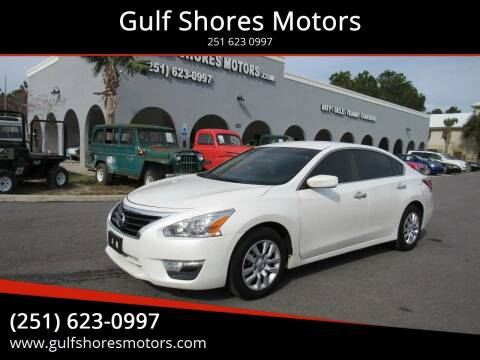 2013 Nissan Altima for sale at Gulf Shores Motors in Gulf Shores AL