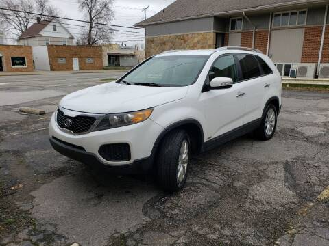 2011 Kia Sorento for sale at USA AUTO WHOLESALE LLC in Cleveland OH