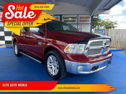 2014 RAM Ram Pickup 1500 for sale at ELITE AUTO WORLD in Fort Lauderdale FL