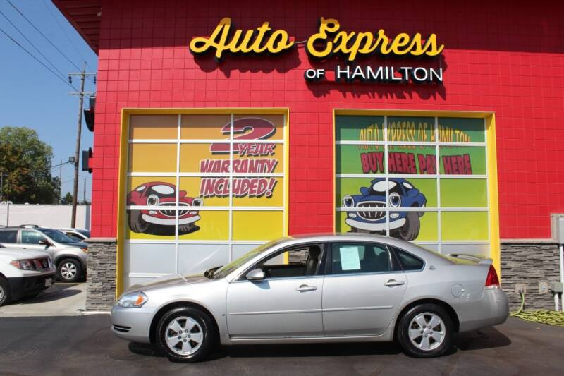 2008 Chevrolet Impala for sale at AUTO EXPRESS OF HAMILTON LLC in Hamilton OH