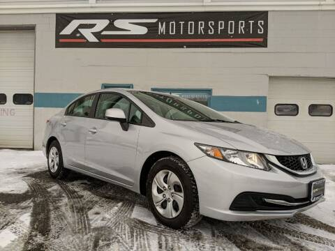 2013 Honda Civic for sale at RS Motorsports, Inc. in Canandaigua NY