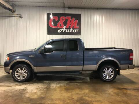 2005 Ford F-150 for sale at C&M Auto in Worthing SD