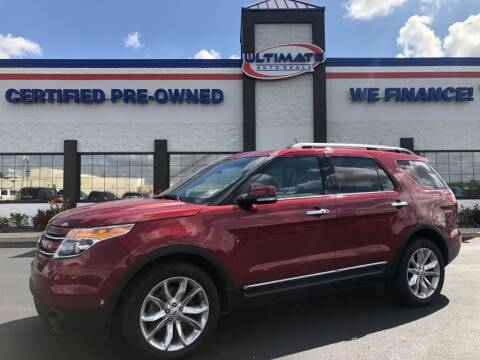 2015 Ford Explorer for sale at Ultimate Auto Deals in Fort Wayne IN