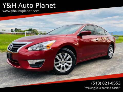 2013 Nissan Altima for sale at Y&H Auto Planet in West Sand Lake NY