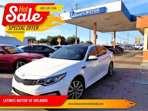 2019 Kia Optima for sale at LATINOS MOTOR OF ORLANDO in Orlando FL