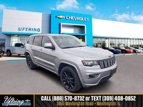 2017 Jeep Grand Cherokee for sale at Gary Uftring's Used Car Outlet in Washington IL