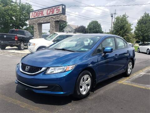 2013 Honda Civic for sale at I-DEAL CARS in Camp Hill PA