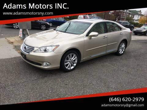 2010 Lexus ES 350 for sale at Adams Motors INC. in Inwood NY