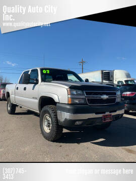 2007 Chevrolet Silverado 2500HD Classic for sale at Quality Auto City Inc. in Laramie WY