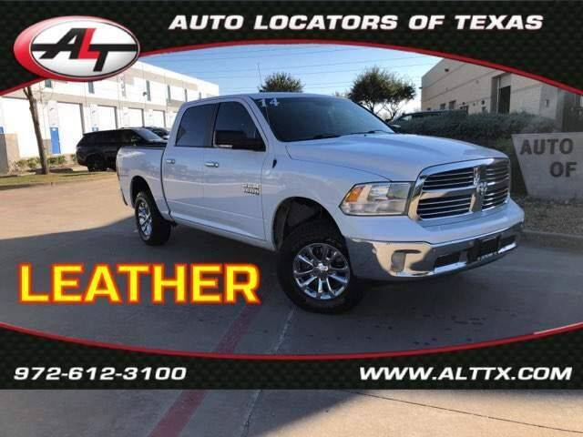 2014 RAM Ram Pickup 1500 for sale at AUTO LOCATORS OF TEXAS in Plano TX