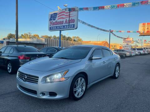 2014 Nissan Maxima for sale at Nations Auto Inc. II in Denver CO