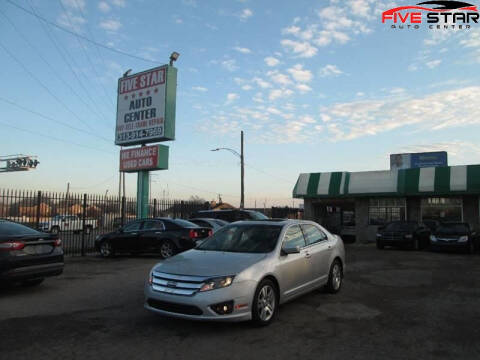 2010 Ford Fusion for sale at Five Star Auto Center in Detroit MI