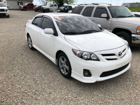2012 Toyota Corolla for sale at Wildcat Used Cars in Somerset KY