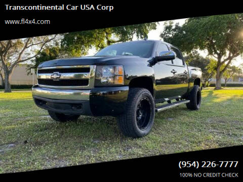2008 Chevrolet Silverado 1500 for sale at Transcontinental Car USA Corp in Fort Lauderdale FL