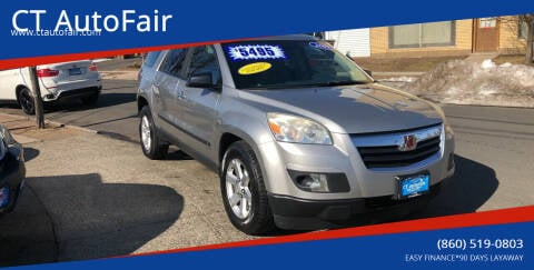 2007 Saturn Outlook for sale at CT AutoFair in West Hartford CT