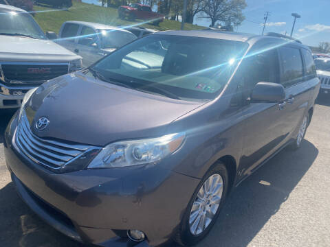 2011 Toyota Sienna for sale at Ball Pre-owned Auto in Terra Alta WV