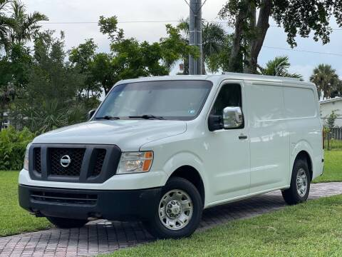 2014 Nissan NV Cargo for sale at Citywide Auto Group LLC in Pompano Beach FL