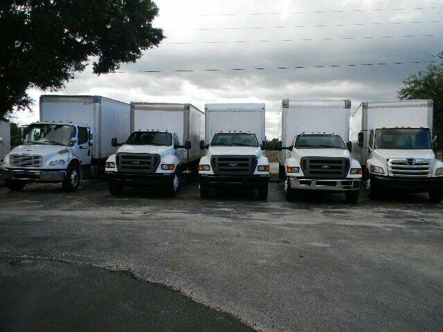 2013 Ford F-750 Super Duty for sale at Longwood Truck Center Inc in Sanford FL