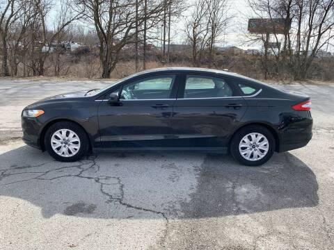 2013 Ford Fusion for sale at Elite Auto Plaza in Springfield IL