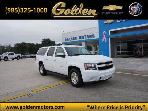 2014 Chevrolet Suburban for sale at GOLDEN MOTORS in Cut Off LA