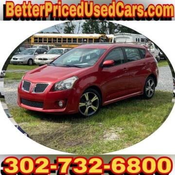 2009 Pontiac Vibe for sale at Better Priced Used Cars in Frankford DE