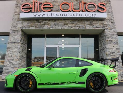 2019 Porsche 911 for sale at Elite Autos LLC in Jonesboro AR