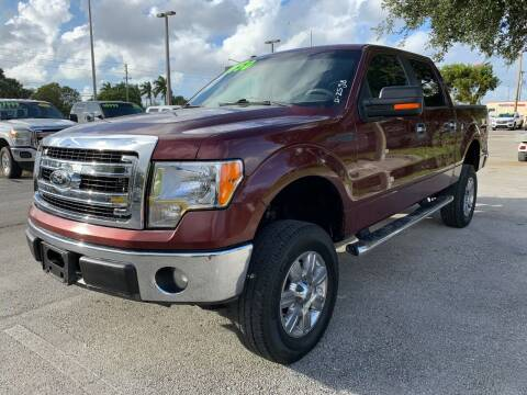 2010 Ford F-150 for sale at DAN'S DEALS ON WHEELS in Davie FL